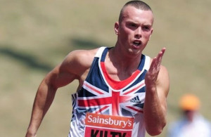 Great Britain's Richard Kilty